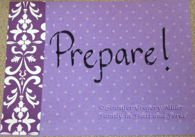 Advent Prepare Watermark