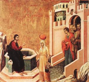 Woman at the Well Duccio