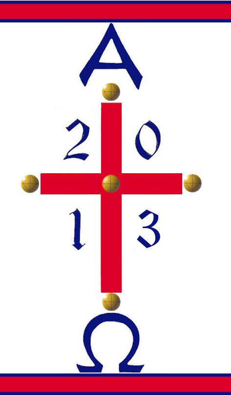 Paschal Candle 2013
