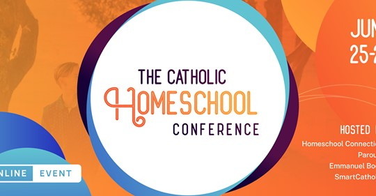 Join Me At The Virtual Catholic Homeschool Conference And Giveaway Family In Feast And Feria