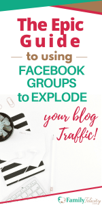 Facebook groups are an effective tool to explode your blog traffic quickly! However many bloggers aren't using Facebook groups the right way. In this epic guide, learn the do's and don'ts, the type of groups to join, and 20 + awesome Facebook groups to join right now! #Blogging #FacebookGroups #BlogTraffic