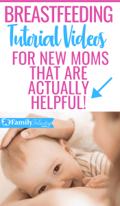 Get the best breastfeeding tips and learn how to breastfeed successfully with these really helpful breastfeeding video tutorials. #breastfeeding #babies