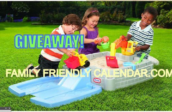 family friendly giveaways little tikes sandbox