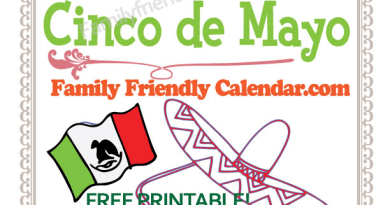 Cinco De Mayo Homeschool Freebie