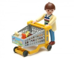 lego shopping cart