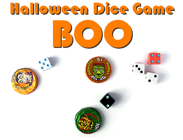 But if there are kids who want in on. Halloween Dice Game Boo - FamilyGameShelf.com
