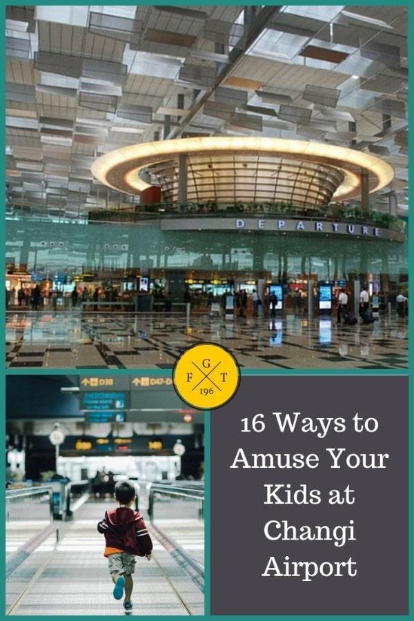 16 Ways to Amuse Your Kids at Changi Airport