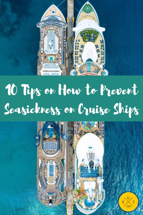 10 Tips on How to Prevent Seasickness on Cruise Ships