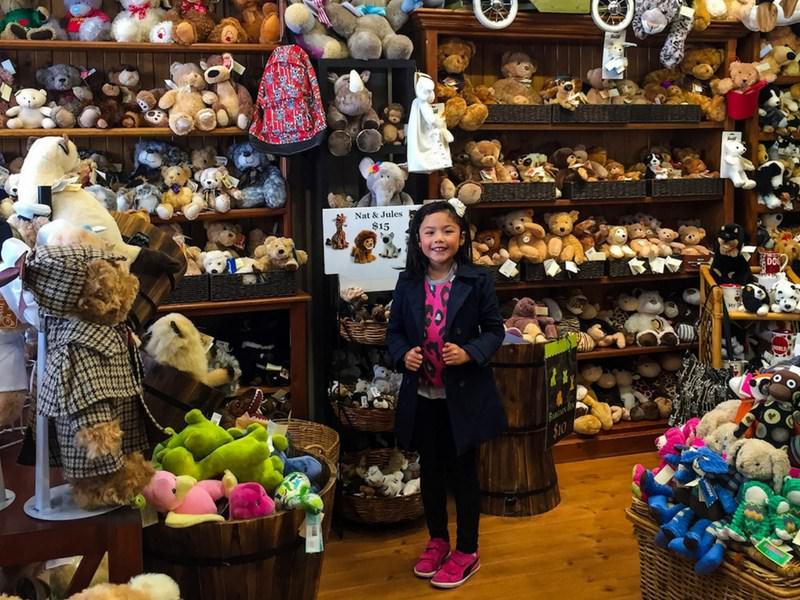 Girl Teddy bear shop Hobart tasmania