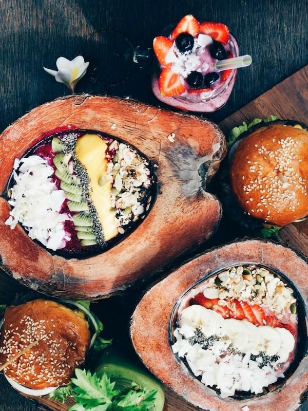 Balinese Food Rice Coconut Fruit