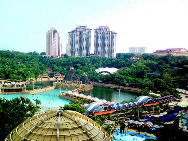 Sunway Lagoon Theme Park Kuala Lumpur