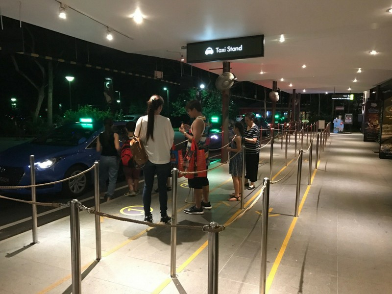 Night Safari Singapore Taxi rank