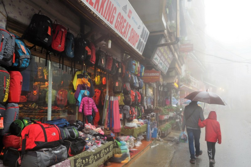 Sapa Trekking Tips Outdoor Clothing Stores