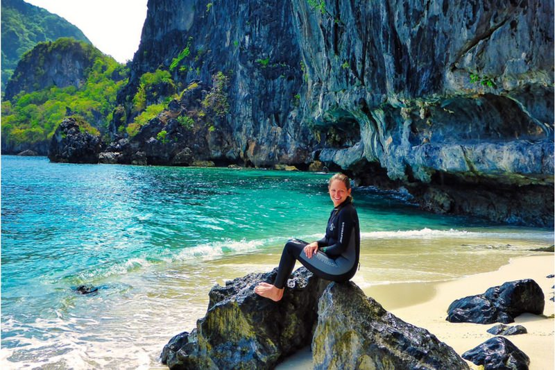 best beaches in the world diving elnido