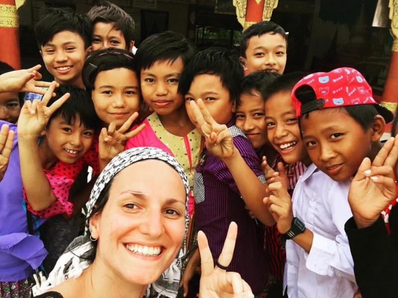 Adventures in Southeast Asia Myanmar Solo travel kids