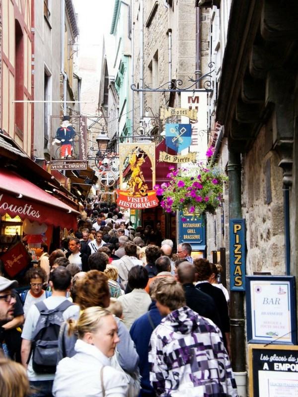 Disappointing Travel Destinations Mont Saint-Michel