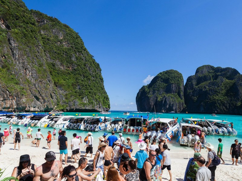 Disappointing Travel Destinations Phi Phi Island