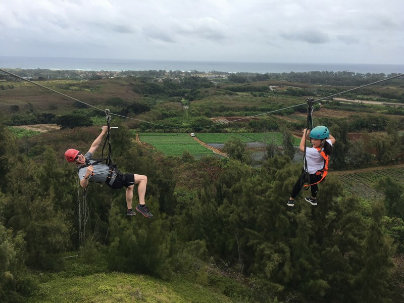 Things to Do in Oahu With Kids Zip Lining
