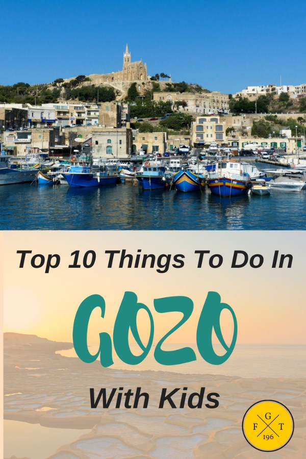 Top 10 Things To Do In Gozo With Kids by familyglobetrotters.com