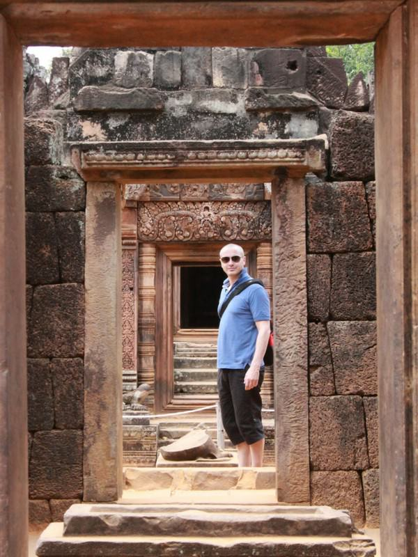 Banteay Srei Angkor Man