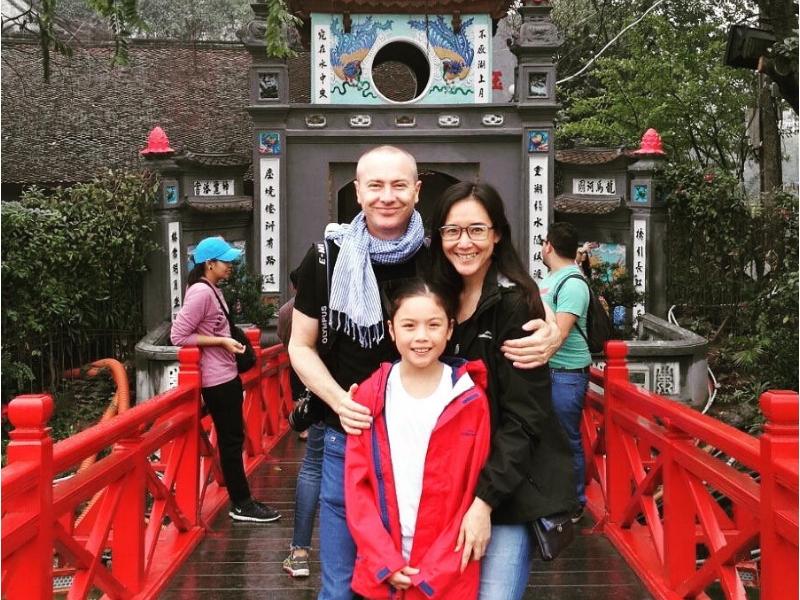 Hanoi-Hoan-Kiem-Lake-Family