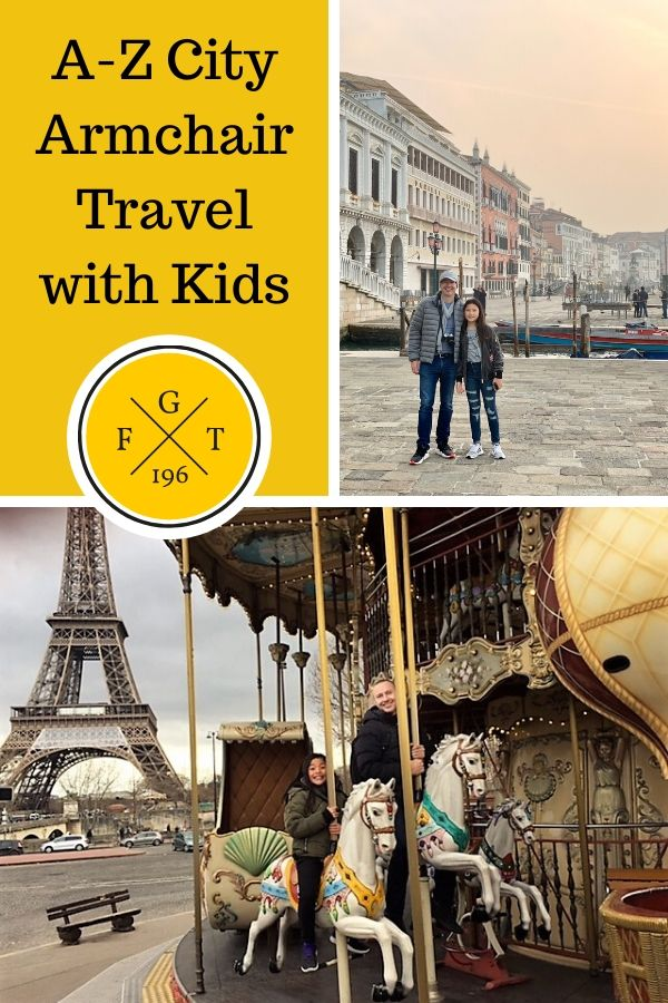 A-Z City Armchair Travel for Kids