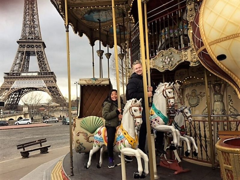 Eiffel Tower Carousel Paris