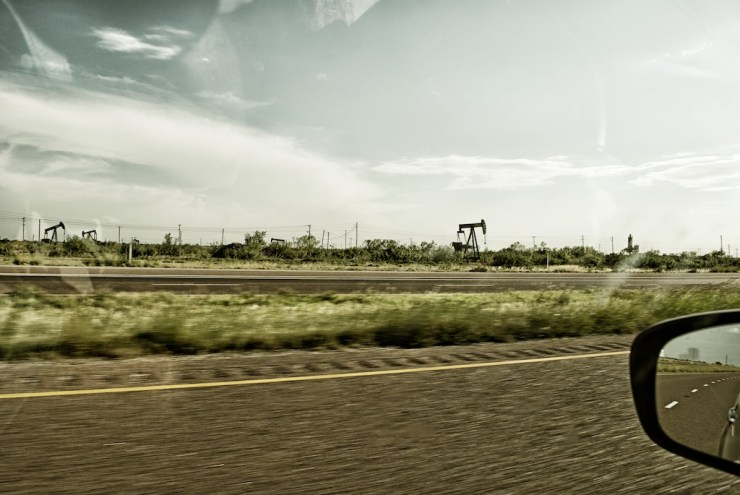 Oil Wells galore