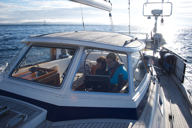 Port Ludlow to Neah Bay: Putting our act together on our first long passage aboard Pesto.
