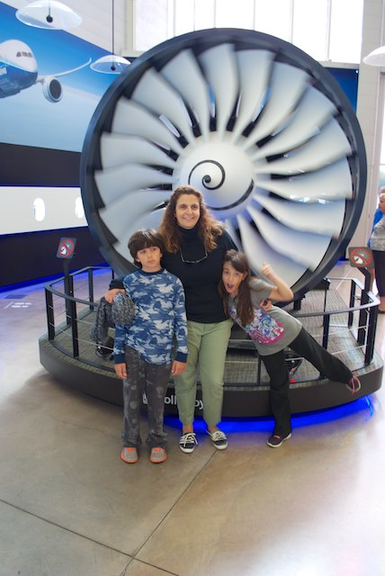 The turbines were a special attraction