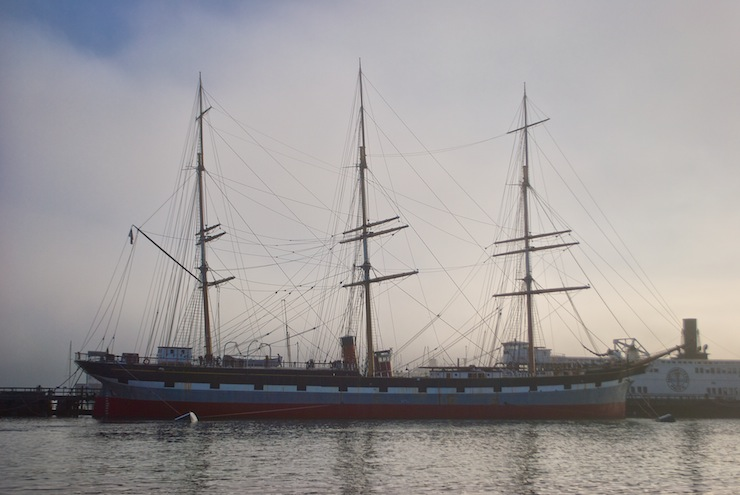 The visit to the beautiful clipper ship Balclutha will have to wait for another day