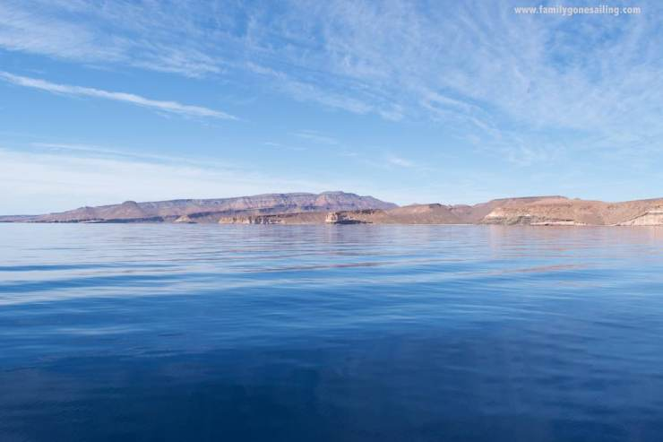 The Sea of Cortez and Isla Espiritu Santo