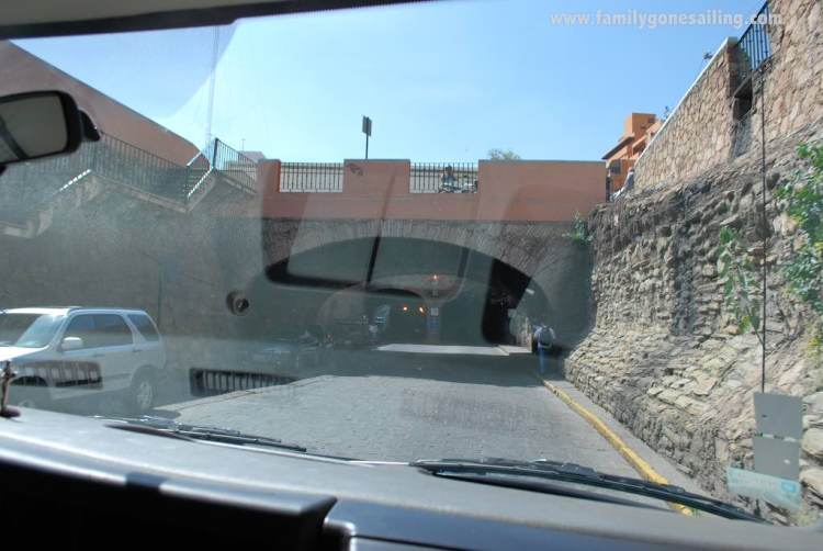 And it was like entering the tunnel of time. There was still so much water to pass under our bridges ...