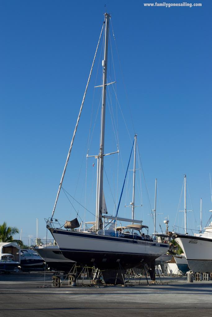 pesto at the yard, where she stayed for 15 days (and where a number of projects were undertaken)