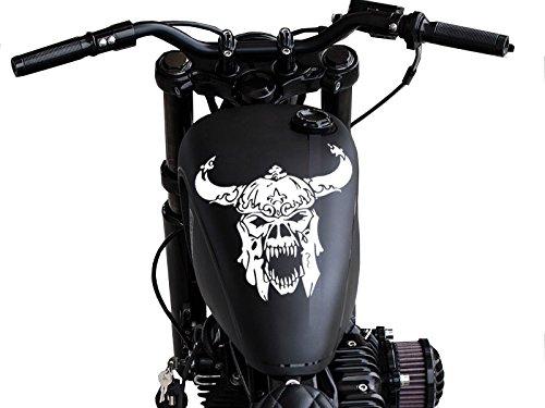 FGD Motorcycle Viking Skull Gas Tank Decal 11