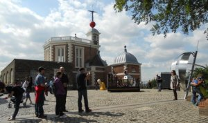 The meridian at the Royal Observatory