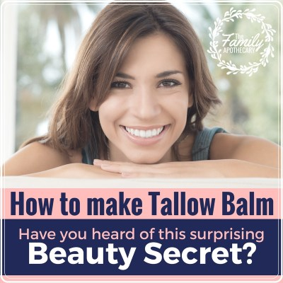 Tallow is rich in healthy fats that nourish the body inside and out. Here's a quick #tutorial on how to easily render tallow in a CROCK POT to make a nourishing tallow face cream that you'll love! Super easy, super inexpensive... your skin will thank you! #nontoxicbeauty #DIYbeauty #skincare #naturalbeauty #naturalskincare #healthyfats #nourishing ~ TheFamilyApothecary.com