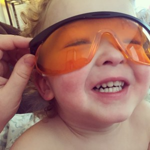 Is Blue Light hazardous to your health? CLICK HERE to find out if blue light blocking glasses could be your key to sleeping bliss! #bluelight #orangeglasses #sleep ~ sarahmichalmclain.com