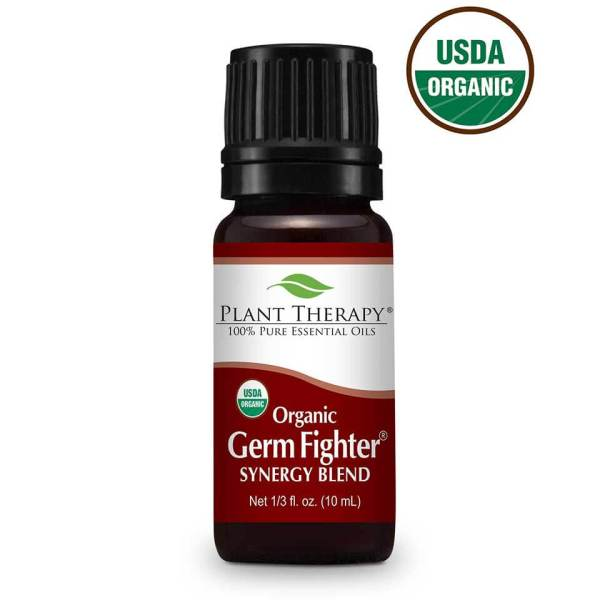 When an attack on your immune system happens reach for Organic Germ Fighter from Plant Therapy to turn around to a healthy state faster! #defense #figthtthegerms #immunesupport ... Visit TheFamilyApothecary.com for more great products to support your health and fill your home with joy.