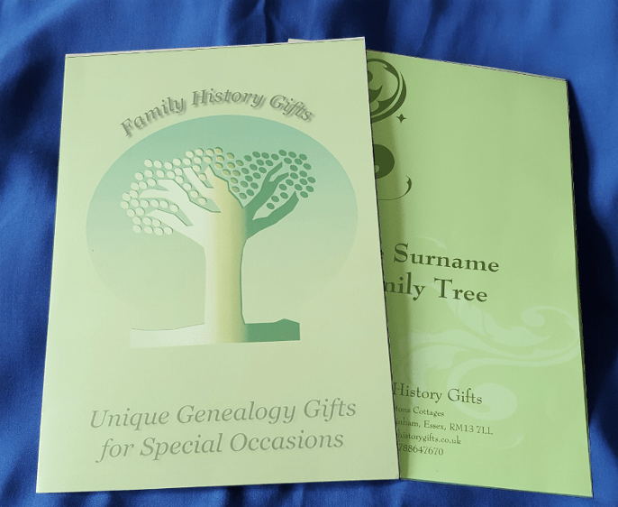 Gift voucher presentation pack