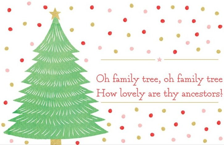 Oh Family Tree...