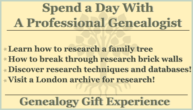 Family Tree Gift Experience: Research Day