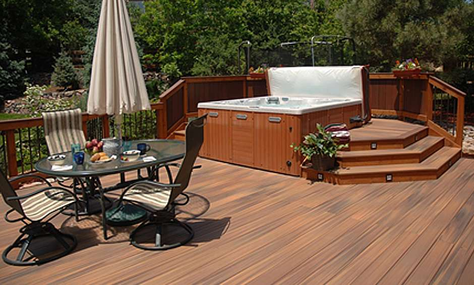How To Reinforce A Deck For A Hot Tub on Deck And Hot Tub Ideas  id=38300