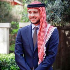 crown prince Hussein bin Abdallah