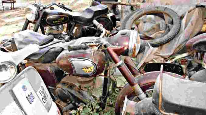 best tips for getting rid of an old motorcycle
