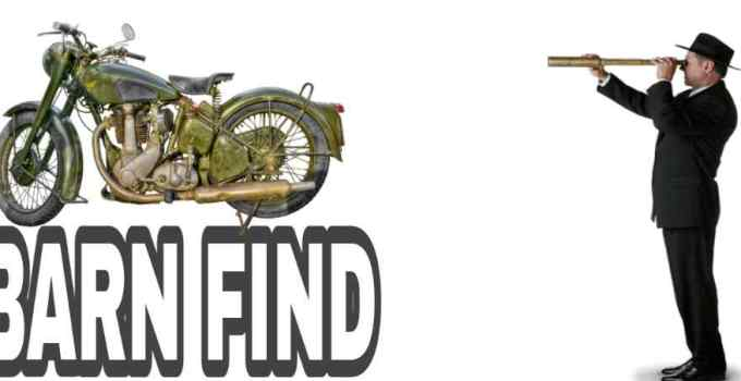 how to find barn find motorcycles