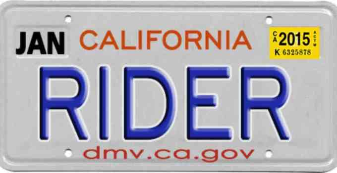 how to make a fake motorcycle license plate