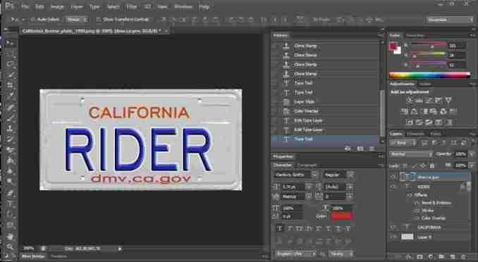 Printable temporary license plate