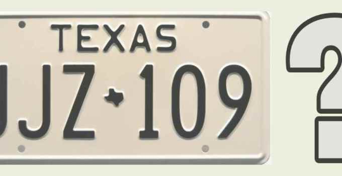 what to do with old license plates texas