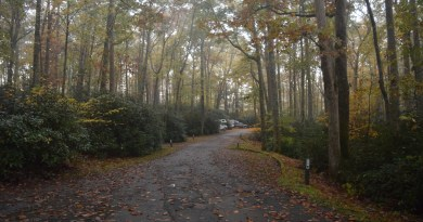 Arriving at Julian Price Campground on the Blue Ridge Parkway